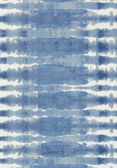MARGATE, Blue on White, AT7942, Collection Watermark from Anna French