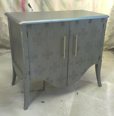 Sydney Barton Painted Furniture - don't like the pattern exactly but the shades of the same color together are fantastic.