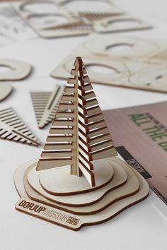 Business gift - D.I.Y. visiting card holder on Behance