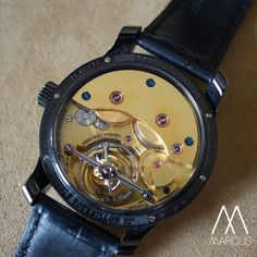 As requested the back case of the Greubel Forsey Vision double tourbillon.
