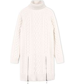 Alexander Wang Ivory Cable Stitch Knit