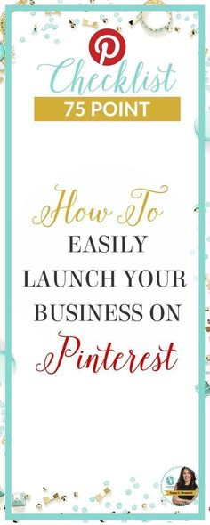Actionable tips you can apply right now. Work smarter, not harder. Use this Pinterest for business checklist to drive engagement, attract more followers, get more traffic, repins and sales. Get your step by step checklist created by Pinterest Expert Anna