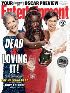Time to party! Get exclusive scoop on season 8 of #TheWalkingDead.