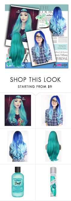 """""""uniwigs 3."""" by adanes ❤ liked on Polyvore featuring Tiffany & Co., Bumble and bumble, Batiste, women's clothing, women's fashion, women, female, woman, misses and juniors"""