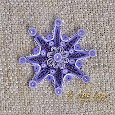 Printre hobby-uri: quilling, kusudama, origami, bijuterii handmade...: Quilling - Snowflakes (Fulgi de nea)