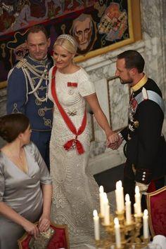 Crown Prince Haakon and Crown Princess Mette Marit of Norway