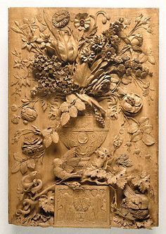 Aubert Parent's 1789 virtuoso carving made w single piece of limewood