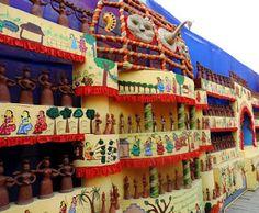 Ethnic and beautifulkolkata durga puja pandal decorations art creative and beautiful craft work at the durga puja pandals in kolkata altavistaventures Gallery