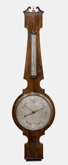 William IV Rosewood Barometer