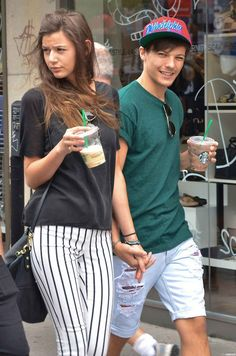 Eleanor Calder and Louis Tomilson