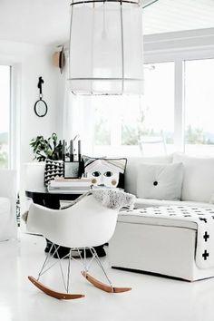 cadeira eiffel balanço lã