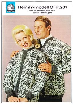 207 Norwegian Knitting, Knitting Designs, Couple Photos, Couples, Pattern, Tricot, Woman, Knitting Projects, Couple Shots