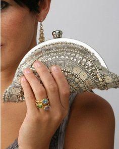 Mosaic Beaded Clutch Purse <3 SO adorable!   Clutch purse \ bag \ love  Ladies / women fashion