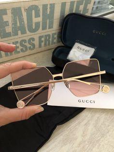 Gucci Sunglasses Rose 2019 for Sale in Miami, FL - OfferUp Cute Sunglasses, Trending Sunglasses, Gucci Sunglasses, Sunnies, Cute Jewelry, Jewelry Accessories, Glasses Frames Trendy, Glasses Trends, Fashion Eye Glasses