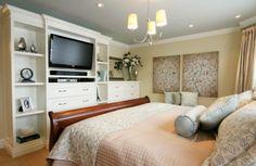 master bedroom built in instead of dressers