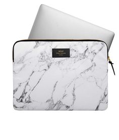 Travel in style with the Wouf White Marble Laptop Sleeve, while protecting your laptop or MacBook Pro. Discover it today at Hurn and Hurn Laptop Pouch, Mac Laptop, College School Supplies, Laptop Stand, Retina Display, Iphone Accessories, Macbook Pro, Laptop Stickers, White Marble