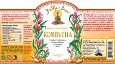 Lucky to have local kombucha brewers Buddha's Brew #Austin! Ginger is my favorite.