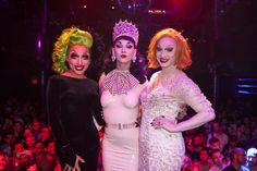 Bianca, Violet, and Jinkx