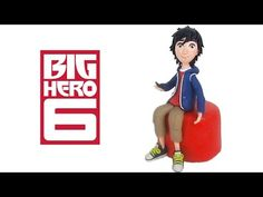 Fondant Hiro Cake Topper out of fondant - Disney Big Hero 6 - YouTube