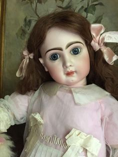 Beautiful BeBe Jumeau size 15 from antiquedolls6395 on Ruby Lane
