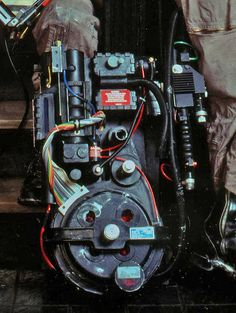 Ghostbusters Proton Pack: growing up in the 80's who didn't want to strap on a Ghostbusters backpack and march around to a power-synth soundtrack?