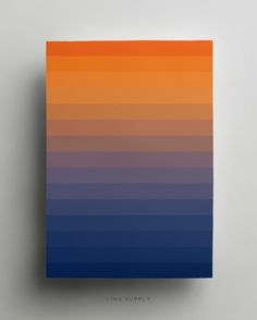 Dawn gradient poster - linxsupply.com.