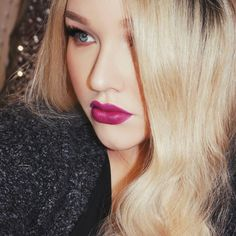 """One more from earlier today  loving this @sigmabeauty lip base in """"Rhapsody""""  #nikkietutorials #sigmabeauty #Padgram"""