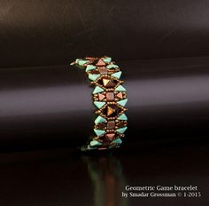 GEOMETRIC GAME BRACELET | Bead Master - Wholesale of Beads & Beading Supplies