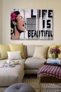 Life Is Beautiful - 3 Piece Set