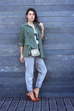 I love Fita Métrica: Caqui&Grey