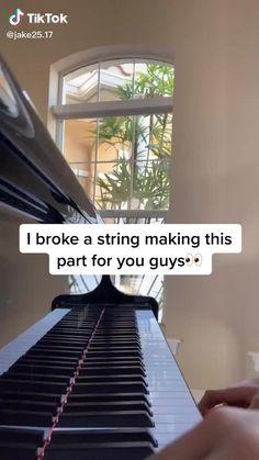 Cool Music Videos, Music Stuff, Good Music, Piano Songs, Piano Music, Music Sing, Dance Music, Song Notes, Love Sound
