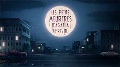 Les nouveaux petits meurtres d'Agatha Christie on Vimeo Agatha Christie, Cut Out Animation, Title Sequence, Celestial, Outdoor, Outdoors, The Great Outdoors