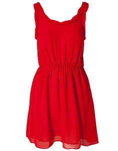 pretty red sundress. Pair with some fabulous silver jewelry for a New Mexico football game. Go Lobos!