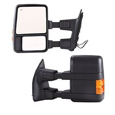 Best price on MTO® Pair Power Towring mirrors for * 2003-2007 * Ford F250 F350 F450 F550 Super Duty Heated Function Amber Turn Signals Folding Telescoping Extending 03-07 See details here: http://autoloving.com/product/mto-pair-power-towring-mirrors-for-2003-2007-ford-f250-f350-f450-f550-super-duty-heated-function-amber-turn-signals-folding-telescoping-extending-03-07/ Truly the best deal for the inexpensive MTO® Pair Power Towring mirrors for * 2003-2007 * Ford F250 F350 F450 F550 Super...