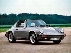 1983-89 Porsche 911 Carrera 3.2 Targa