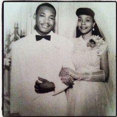 Martin Luther King, Jr. and Coretta Scott
