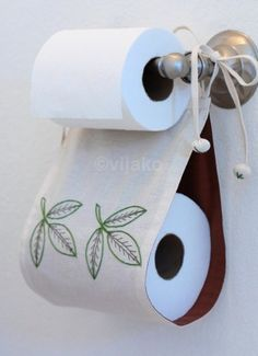 Ideas on clever ways to store your TP.  I do think some have given way to much thought into this!  ;-)