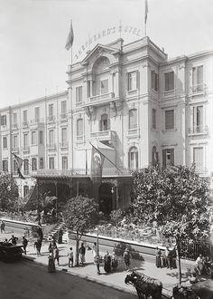 Shepheard Hotel. Cairo, Egypt. 1920-1933.