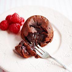 Chocolade puddinkjes