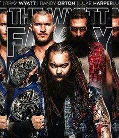 Bray Wyatt, Luke Harper, Randy Orton