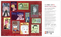 Plan59 :: 1950s TV :: NBC Spectaculars for 1954-1955