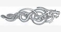 World War I huscarl anglo saxon, anglo saxon history, a Anglo Saxon Tattoo, Anglo Saxon Runes, Anglo Saxon History, Ancient History, Viking Designs, Celtic Designs, Viking Art, Viking Symbols, Anglo Saxon Clothing