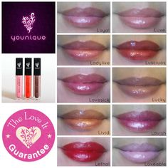 Flaunt your assets! Pout, pucker, or smile -- it's all good! You bring the attitude; we'll bring the shine! Lucrative Lip Gloss brings a whole new meaning to top-of-the-line lip service! Ten colors available: Lavish, Loyal, Lovesick, Ladylike, Luxe, Loveable, Luscious, Livid, Lucky, and Lethal WowFactorMascara.com