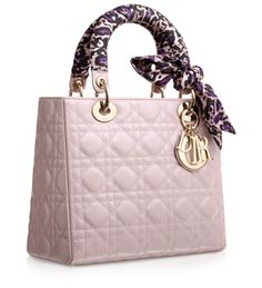 Christian Dior - Foulard-colored leather  Lady Dior  bag (price available  upon 4d38ece0f1b11