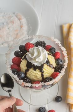 This Berry Salty Sundae will become your new favorite dessert.