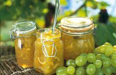 Vindruvor – recept till saft, marmelad och dessert – Allt om Mat Harvest Pictures, Homemade Sweets, Preserves, Jelly, Garden, Recipes, Food, Preserve, Garten