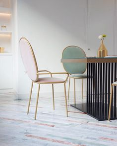 Stay Chairs by Nika Zupanc for Sé | Chikalicious, Shanghai