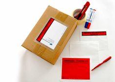 Las bolsas packing list SKYFIX son indispensables son perfectas para el envío de documentación de forma segura y elegante