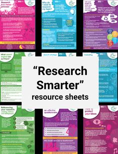 Resource sheets for schools – Information Literacy Website Library Research, Research Skills, Research Methods, Research Paper, Information Literacy, School Information, Creative Teaching, Teaching Tools, Middle School Libraries