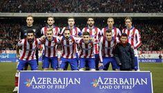 Atleti vs Barsa // 2-3 // Once inicial // Cuartos Copa del Rey (2-4)